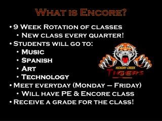 What is Encore?