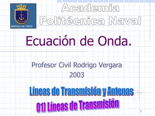Ecuación de Onda.