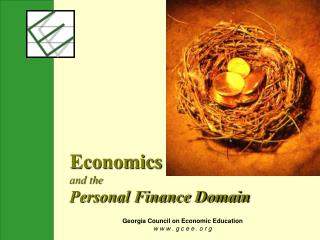 Economics and the Personal Finance Domain