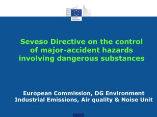 Seveso Directive on the control of major-accident hazards involving dangerous substances