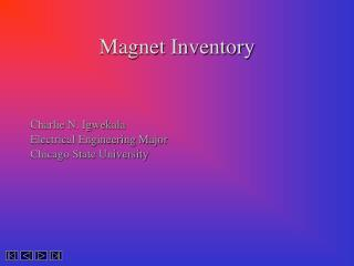 Magnet Inventory