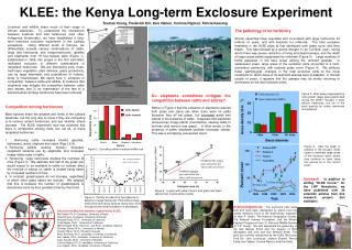 KLEE: the Kenya Long-term Exclosure Experiment
