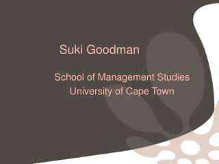 Suki Goodman