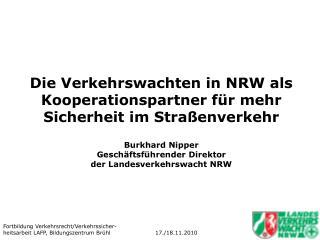 Verkehrswachten in NRW