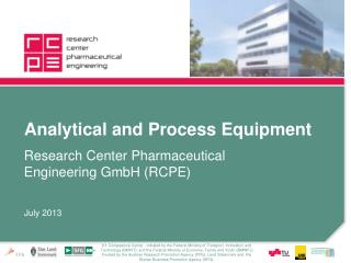 Analytical  and Process  Equipment