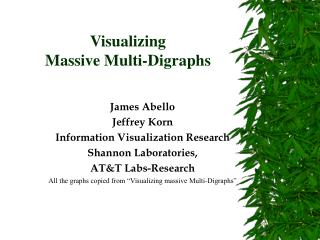 Visualizing  Massive Multi-Digraphs