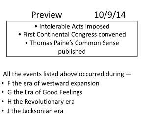 Preview			10/9/14