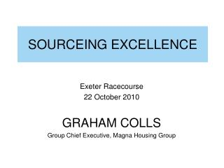 SOURCEING EXCELLENCE