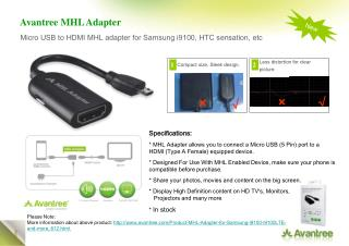 Avantree MHL Adapter