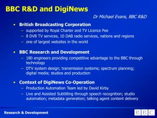 BBC R&D and DigiNews