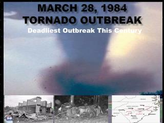 March 28, 1984 Tornado Outbreak