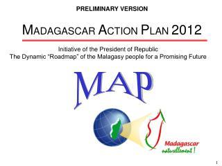 MADAGASCAR ACTION PLAN 2012