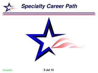Specialty Career Path