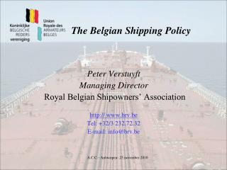 The Belgian Shipping Policy