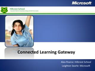Connected Learning Gateway