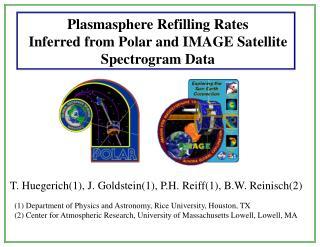 Plasmasphere Refilling Rates  Inferred from Polar and IMAGE Satellite  Spectrogram Data