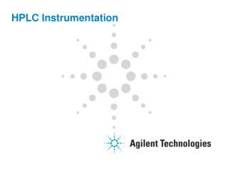 HPLC Instrumentation