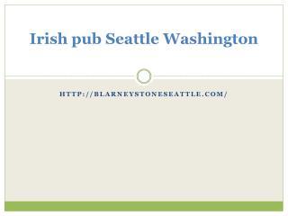 seattle irish pubs Washington