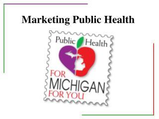 Marketing Public Health