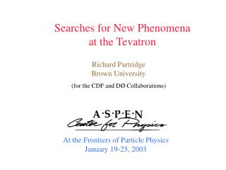 Searches for New Phenomena at the Tevatron