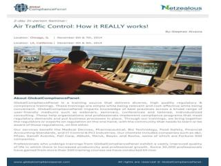 Air Traffic Control: How it REALLY works!