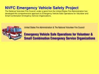 NVFC Emergency Vehicle Safety Project