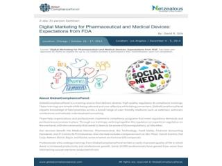 Digital Marketing for Pharmaceutical and Medical Devices