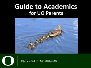 Guide to Academics
