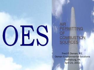 Air Permitting of Combustion Sources