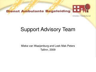 Support Advisory Team