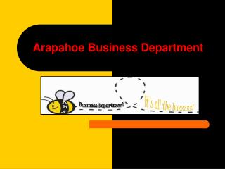 Arapahoe Business Department