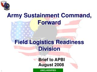 Army Sustainment Command, Forward Field Logistics Readiness Division