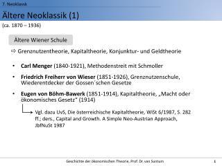 ltere Neoklassik 1