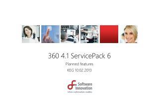 360 4.1 ServicePack 6