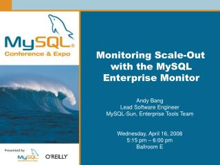 Monitoring Scale-Out with the MySQL Enterprise Monitor