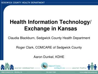 Health Information Technology/ Exchange in Kansas