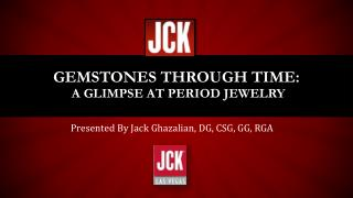 Gemstones Through Time: A Glimpse at Period Jewelry