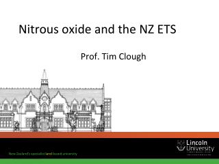 Nitrous oxide and the NZ ETS