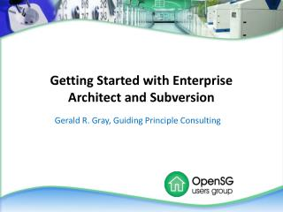 Getting Started with Enterprise Architect and Subversion
