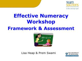 Effective Numeracy Workshop Framework & Assessment
