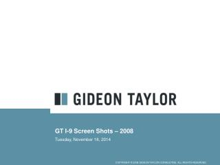 GT I-9 Screen Shots – 2008
