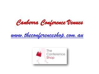 Canberra Conference Venues - Theconferenceshop.com.au
