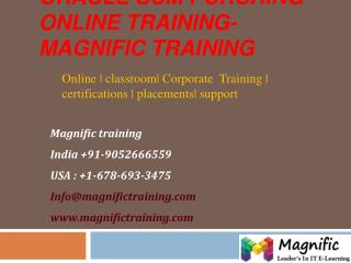 oracle scm purchasing online training