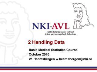 2 Handling Data