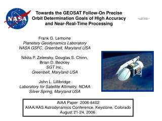 Towards the GEOSAT Follow-On Precise Orbit Determination Goals of High Accuracy and Near-Real-Time Processing