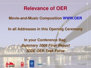 Relevance of OER