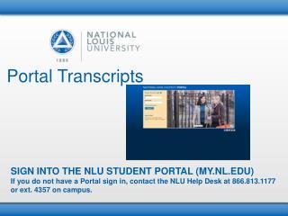 Portal Transcripts