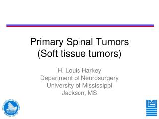 Primary Spinal Tumors (Soft tissue tumors)