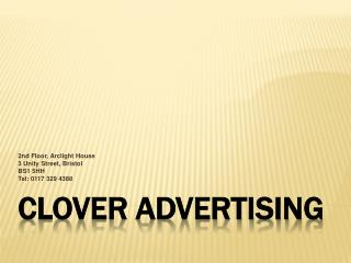 About Clover Advertising