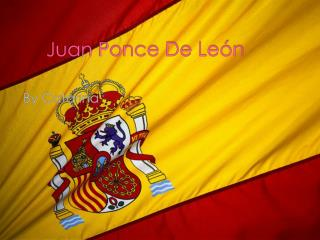 Juan Ponce De Le�n
